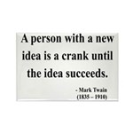 Mark Twain 35 Rectangle Magnet (100 pack)
