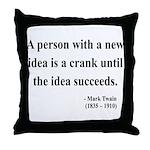 Mark Twain 35 Throw Pillow