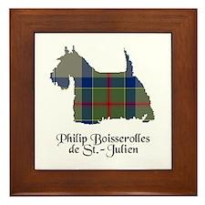 Terrier-de St Julien Framed Tile