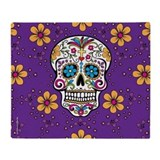 Day of the dead Blankets