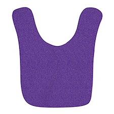 Solid Purple Glimmer Bib