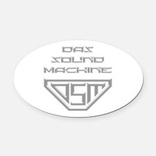 Pitch Perfect DSM Oval Car Magnet