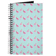 Pink Flamingos Pattern Journal