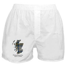 Map-de St Julien Boxer Shorts