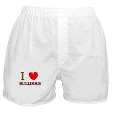Bulldog gifts for women Boxer Shorts