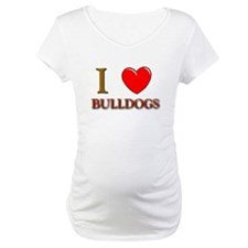 Bulldog gifts for women Maternity T-Shirt