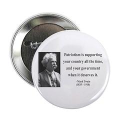 """Mark Twain 37 2.25"""" Button (10 pack)"""