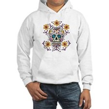 Sugar Skull WHITE Jumper Hoody