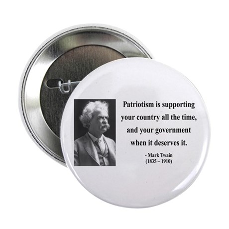 "Mark Twain 37 2.25"" Button"