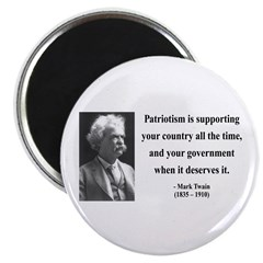 Mark Twain 37 Magnet