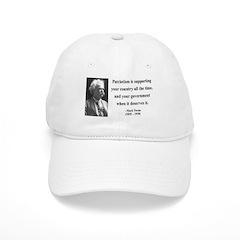Mark Twain 37 Baseball Cap