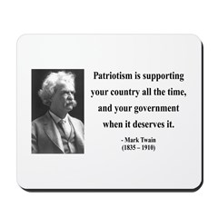 Mark Twain 37 Mousepad