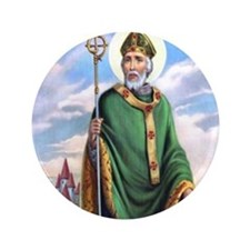 St. Patrick Button