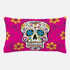 Dead Sugar Skull, Halloween Pillow Case