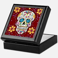 Dead Sugar Skull, Halloween Keepsake Box