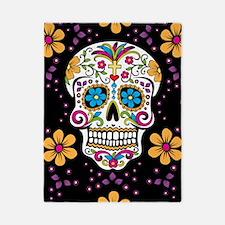 Dead Sugar Skull, Halloween Twin Duvet