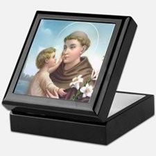 St. Anthony of Padua Keepsake Box