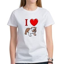 Bulldog gifts for women Tee