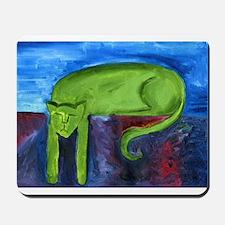 Lazy Cat Mousepad
