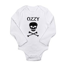 Cute Crossbones Long Sleeve Infant Bodysuit