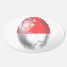 Singapore Soccer Ball Decal