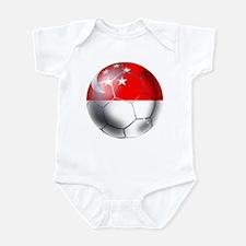 Singapore Soccer Ball Onesie