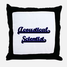 Acoustical Scientist Classic Job Desi Throw Pillow