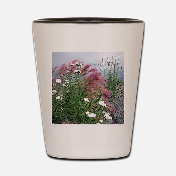 Lavender Delight Shot Glass