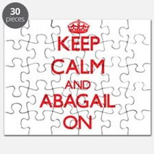 Keep Calm and Abagail ON Puzzle
