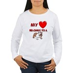 Bulldog gifts for women Women's Long Sleeve T-Shir