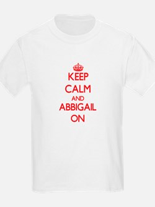 Keep Calm and Abbigail ON T-Shirt