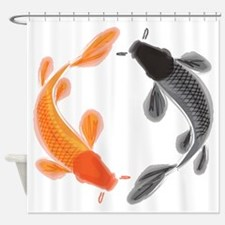 Japanese Koi Shower Curtain