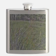 Field Of Wild Grass Flask