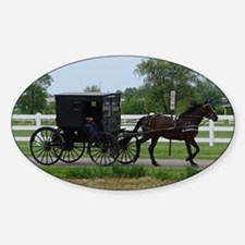 Amish Buggy Decal