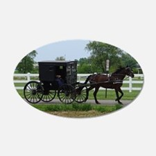 Amish Buggy Wall Decal