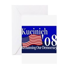 Funny Kucinich Greeting Card
