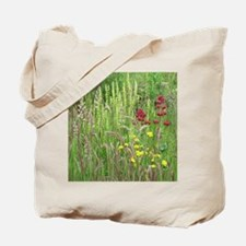 Spring Wild Grass Tote Bag
