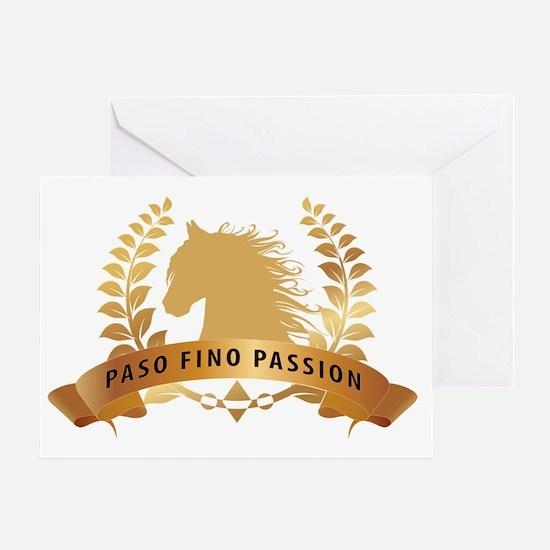Cute Paso fino Greeting Card