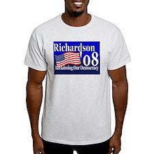 Funny Bill richardson for president T-Shirt