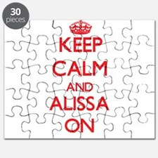 Keep Calm and Alissa ON Puzzle