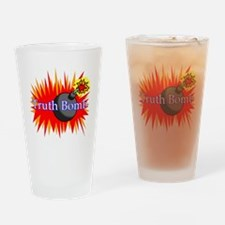 Truth Bomb Drinking Glass