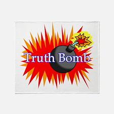 Truth Bomb Throw Blanket