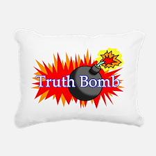 Truth Bomb (mug) Rectangular Canvas Pillow