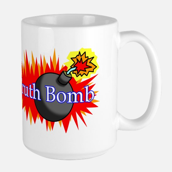 Truth Bomb (mug) Large Mug