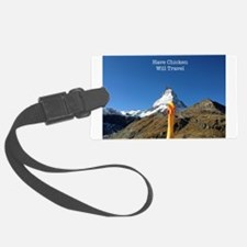 Matterhorn Background Luggage Tag