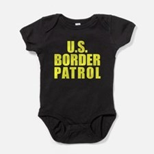 Cute Mexican border Baby Bodysuit