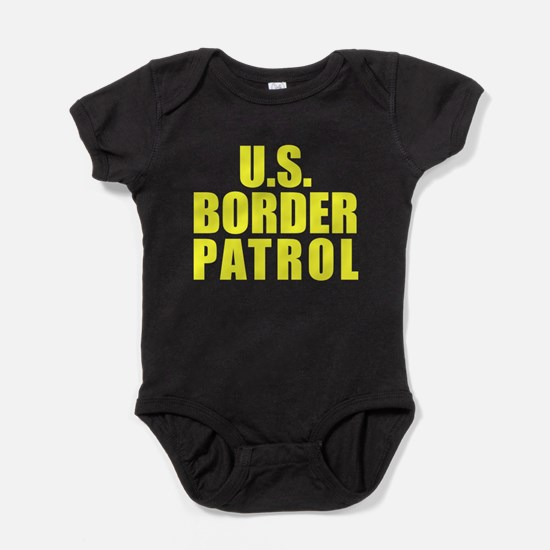 Cute Us border patrol Baby Bodysuit