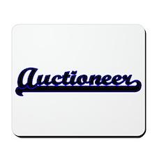 Auctioneer Classic Job Design Mousepad