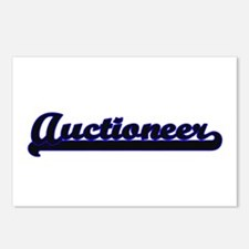 Auctioneer Classic Job De Postcards (Package of 8)
