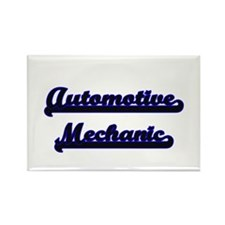 Automotive Mechanic Classic Job Design Magnets